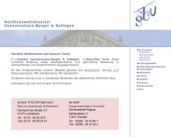 Bild Webseite Sonnenschein-Berger & Kollegen Rechtsanwälte Köln