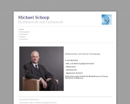 Website Schoop Michael Rechtsanwalt