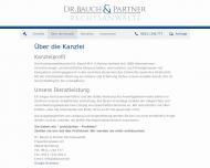 Bild Webseite Rechtsanwälte Bauch Jürgen Dr.jur. Magister Artium , Lutz Andreas Nürnberg