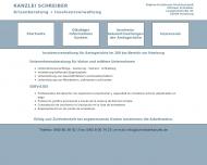 Bild Webseite Schreiber Michael Rechtsanwalt Hamburg