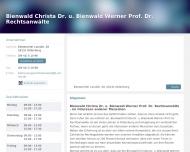 Bild Rechtsanwältin Dr. Christa Bienwald