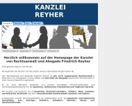 Bild Reyher Friedrich Rechtsanwalt