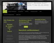 Bild Webseite Dr. Kober & Doll Köln