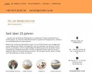 Bild Webseite Richter Bärbel Dr. Rechtsanwältin Berlin