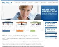 Website Prodata