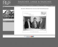 Bild Webseite Rauscher, Lange & Rauscher Rechtsanwaltskanzlei Reutlingen