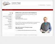 Bild Webseite Pagel Carsten Rechtsanwalt Berlin