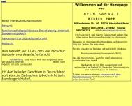 Website Popp Werner