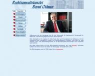 Bild Webseite Rechtsanwaltskanzlei Othmer Leipzig