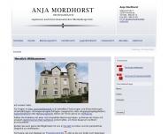 Bild Webseite Mordhorst Anja Rechtsanwältin Hamburg