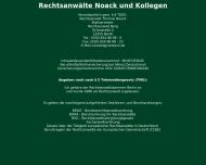 Bild Webseite Rechtsanwalt Thomas Noack Berlin