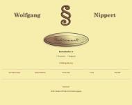 Bild Webseite Nippert Wolfgang Rechtsanwalt Nürnberg
