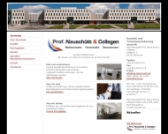 Bild Webseite Prof. Nauschütt München
