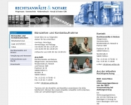 Website Rechtsanwälte Nowak, Wegermann, Sonnenschein & Partner