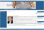 Bild Webseite Nagel Michael Rechtsanwaltskanzlei Dresden