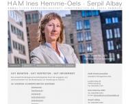 Bild Webseite Mezele Thomas Rechtsanwalt Hamburg