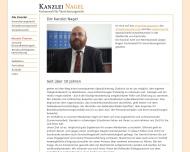 Bild Webseite Rechtsanwalt Jürgen Nagel Karlsruhe