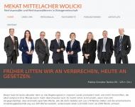 Bild Webseite Mekat Helmuth G. Rechtsanwalt Frankfurt