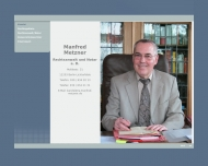 Bild Webseite Rechtsanwalt Manfred Metzner Berlin
