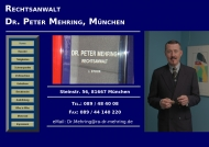 Bild Webseite Mehring Dr. Peter München