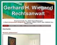 Bild Webseite  Bad Zwesten