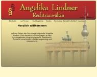 Bild Webseite Rechtsanwältin Angelika Lindner Berlin