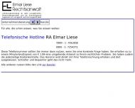 Bild Webseite Liese Elmar Berlin