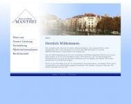 Bild Webseite Manthei Bernd Rechtsanwaltsbüro Berlin