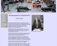 Bild Webseite Rechtsanwalt für Verkehrsrecht in Köln Köln