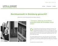Bild Webseite Rechtsanwältin Silke B. Leppig Duisburg