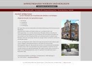 Bild Webseite  Metzingen
