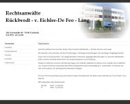 Bild Webseite Lang Rudolf Karlsruhe