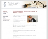 Bild Webseite Rechtsanwalt Thomas Lampe Hamburg