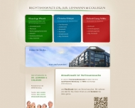 Bild Webseite Dr. Lehmann Nürnberg