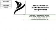Bild Leonhardt-Langhammer Heike Rechtsanwältin