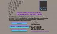 Bild Webseite Rechtsanwältin Kühne A. Nürnberg