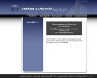 Bild Webseite Kurkowski Andreas Aachen