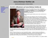 Bild Kettler Dietmar Dr. jur. Rechtsanwaltskanzlei