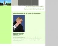 Bild Webseite Koch Irmtrud Mannheim