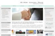 Bild Webseite MSP Steuerberatungsgesellschaft Hamburg