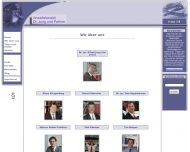 Website Jung Alfred Dr.jur. & Partner Rechtsanwälte