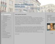 Bild Webseite Jeske Detlef Rechtsanwalt Berlin