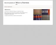Bild Webseite Jura Intensiv Wolf u. Partner Rechtsanwälte Köln