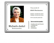 Bild Webseite Jaekel Michaela Oberhausen