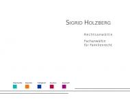 Website Holzberg Sigrid Rechtsanwältin