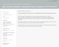 Bild Webseite Hörmann Renate Dr. Rechtsanwältin Berlin
