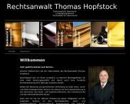 Bild Webseite Rechtsanwalt Thomas Hopfstock Dortmund