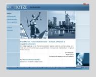 Bild Webseite Hotze Harald Fachanwalt für Strafrecht Frankfurt