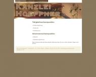 Bild Webseite Hoeppner Axel Rechtsanwalt Berlin