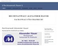 Bild Webseite  Staufenberg
